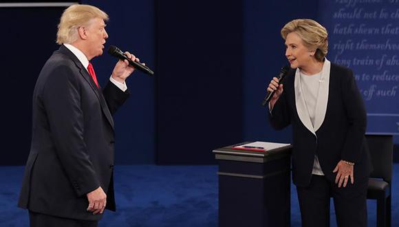 elecciones estados unidos, hillary clinton, donald trump