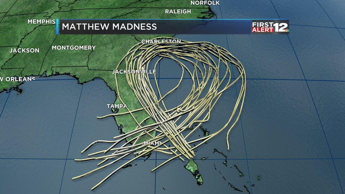 Meteorólogos estadounidenses consideran que Matthew todavía tiene un largo camino por recorrer.