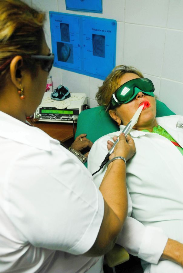 sancti spiritus, estomatologia, clinica estomatologica provincial, laser