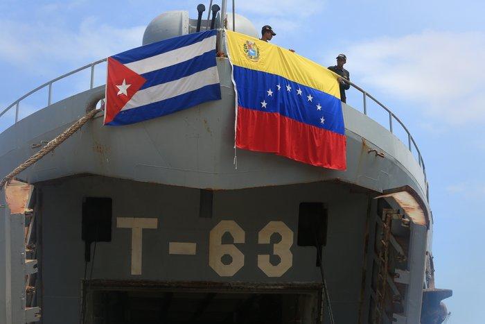 La nave, nombrada Tango 63, será recibida oficialmente este jueves en el puerto de Santiago de Cuba. (Foto: AVN)
