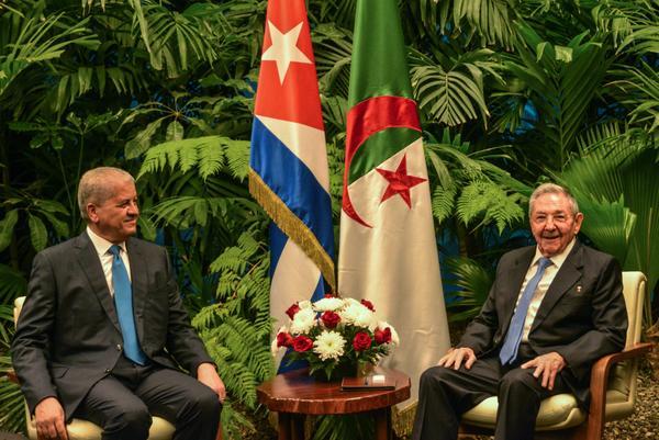 En un ambiente fraternal, ambos dirigentes coincidieron en destacar el excelente estado de las relaciones bilaterales. (Foto: ACN)