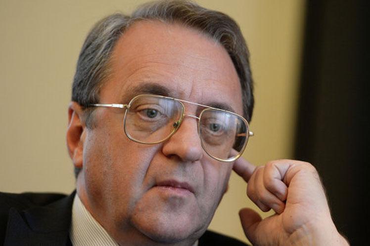 Mijail Bagdanov, viceministro ruso de Relaciones Exteriores.