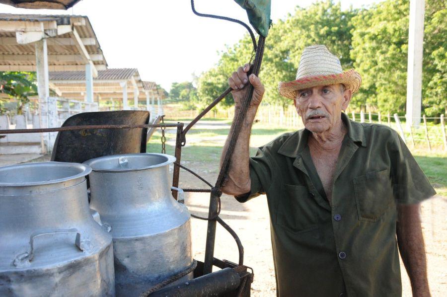 Manuel Almanza Álvarez afirma que el campesino vende la leche para sufragar sus gastos y necesita ese dinero.