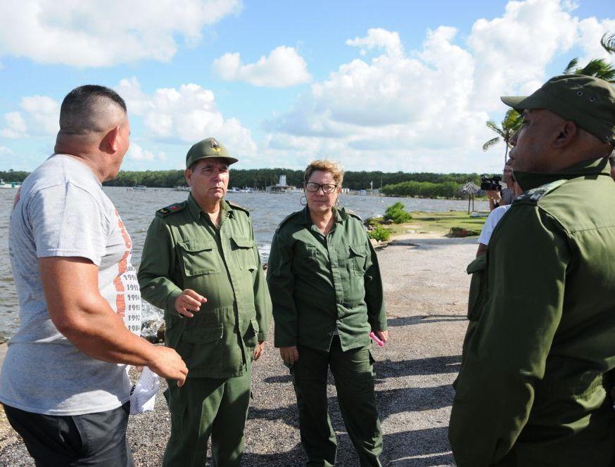 sancti spiritus, huracan matthew, defensa civil, yaguajay