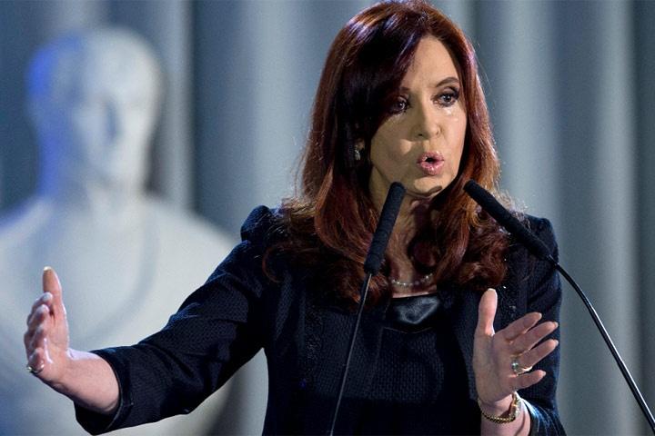 Cristina Fernández  llamó a 'ponernos la patria al hombro'.