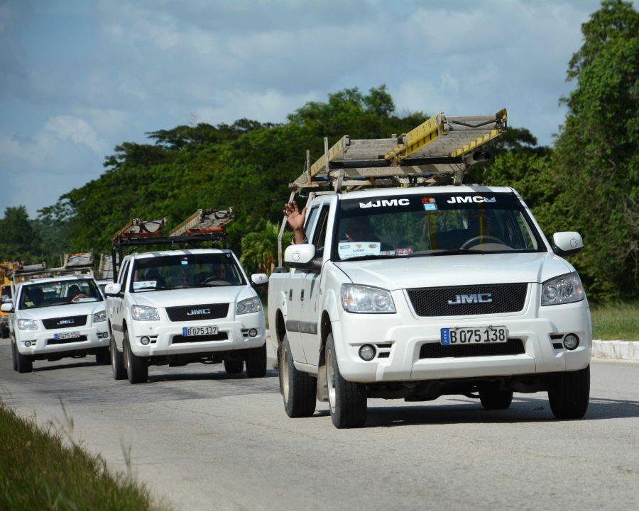 sancti spiritus, cuba, huracan matthew, defensa civil, electricos, santiago de cuba, oriente cubano