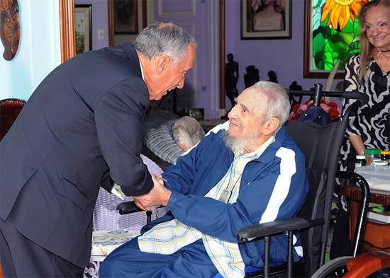 cuba, portugal, fidel castro, presidente de portugal