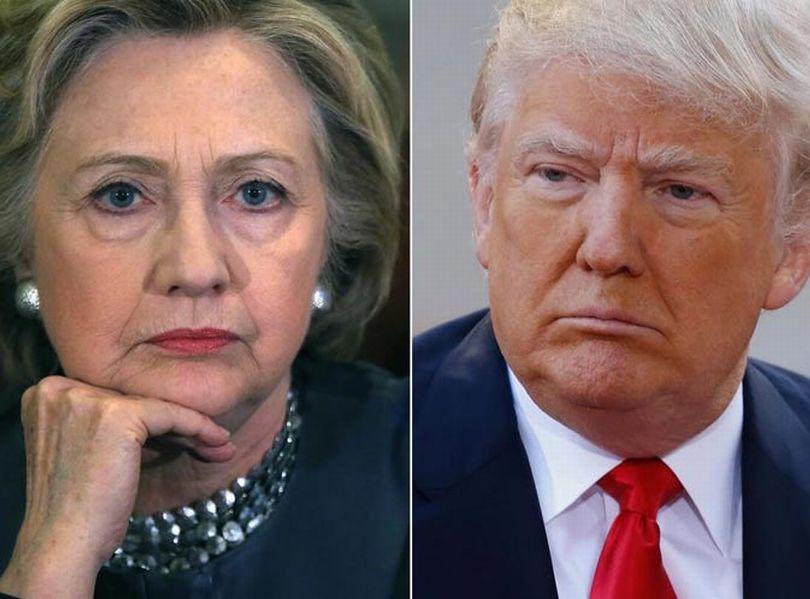 elecciones en estados unidos, hillary clinton, donald trump