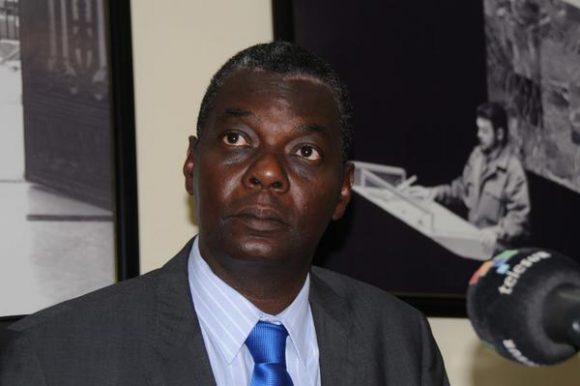 Pedro Luis Pedroso, subdirector general de asuntos multilaterales y de derecho internacional de la cancillería cubana. (Foto: ACN)