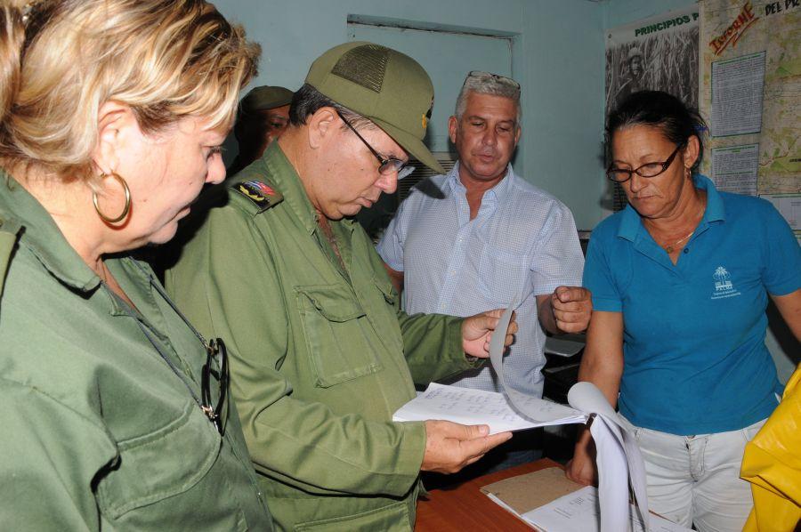 sancti spiritus, yaguajay, huracan matthew, defensa civil