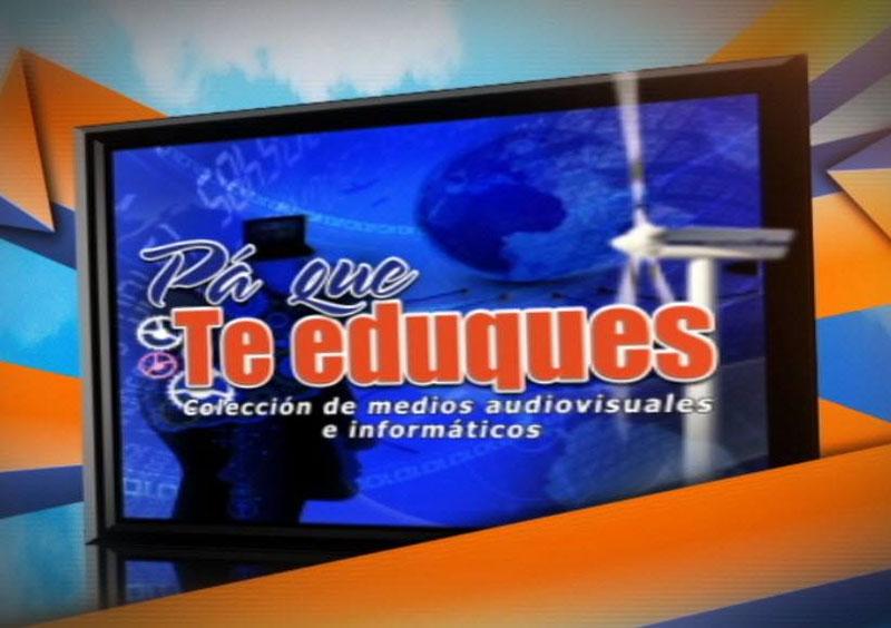 El proyecto Pa' que te eduques es desarrollado por la Empresa de Informática y Medios Audiovisuales (Cinesoft), del Ministerio de Educación.