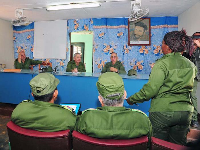 cuba, raul castro, defensa civil, huracan matthew, guantanamo, baracoa, maisi