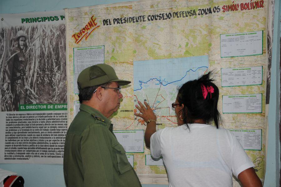 sancti spiritus, huracan matthew, yaguajay, defensa civil
