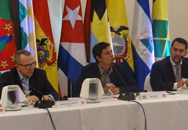 bolivia, alba, ministros del alba