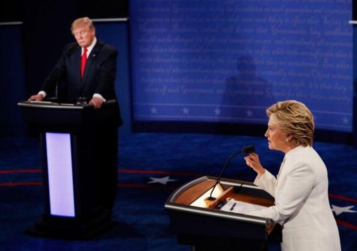 estados unidos en elecciones, hillary clinton, donald trump