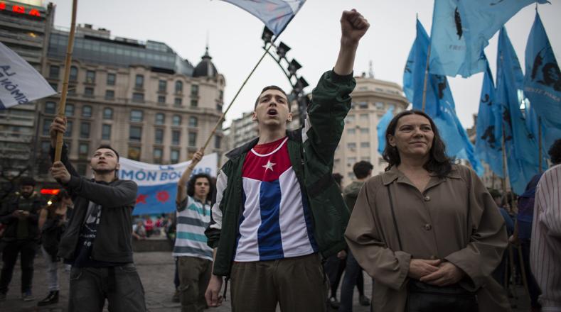 Argentina también ha sido escenario de sentidas actividades en homenaje a quien luchó por la libertad de los pueblos. Foto:Xinhua