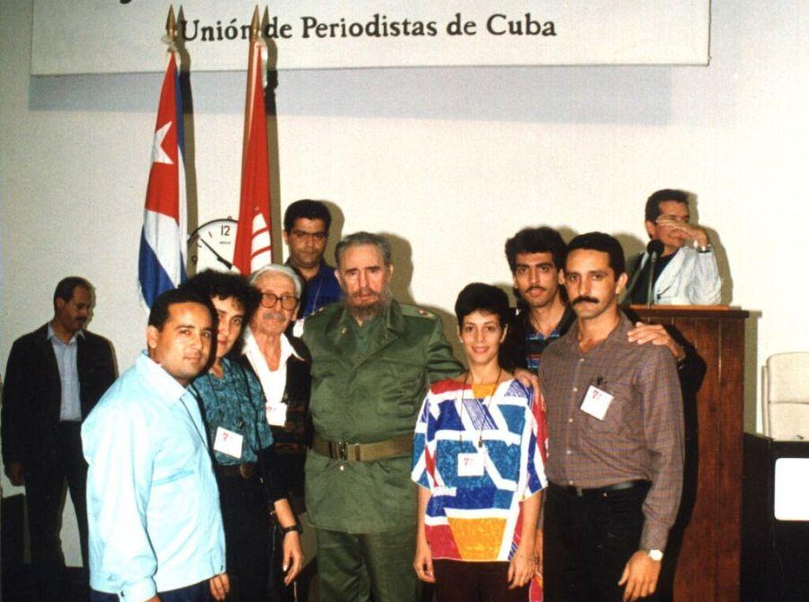sancti spiritus, fidel castro, comandante en jefe fidel castro, revolucion cubana, unios de periodistas de cuba, periodistas