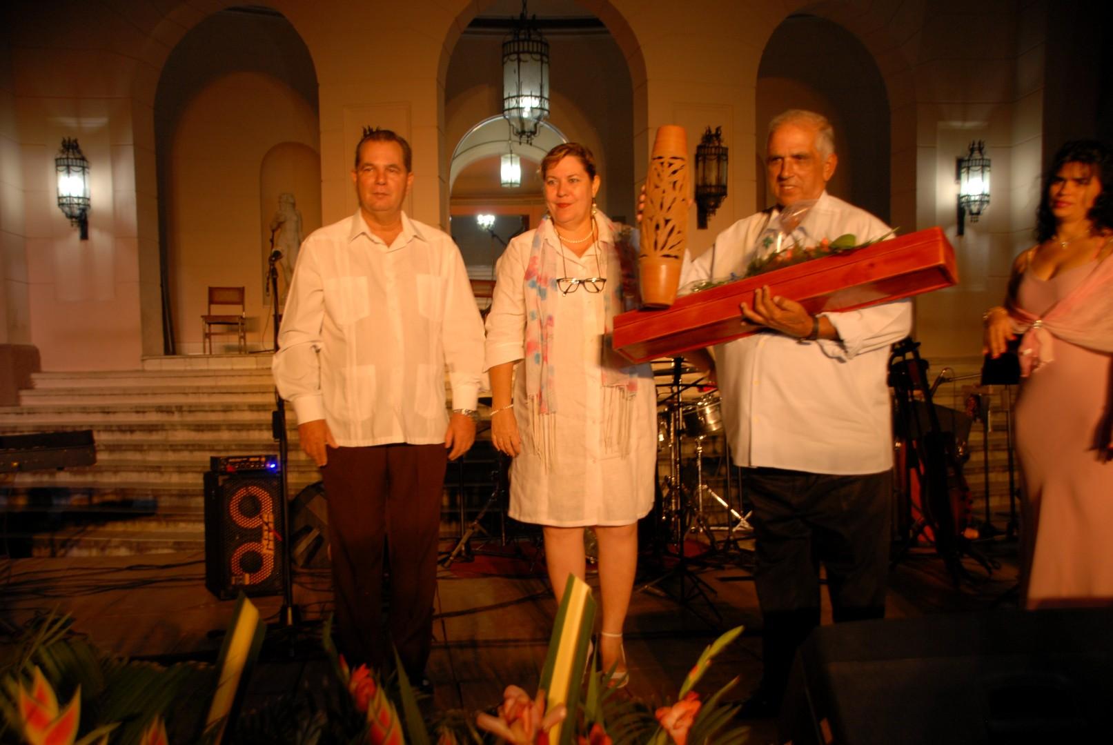 En la cita fue reconocido el trabajo de espirituanos destacados. (Foto: Gerardo Legón)