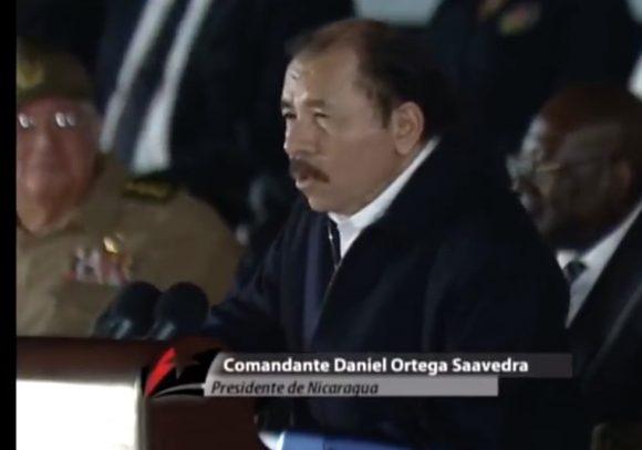 Daniel Ortega lamentó el fallecimiento Fidel: 'Duele ese tránsito a la inmortalidad'.