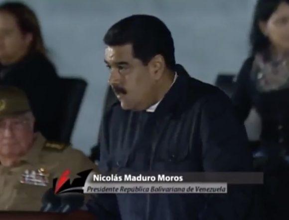 No pudieron con Fidel, ni podrán con el pueblo de Cuba, ni con los sueños de paz y esperanza de la Patria Grande, aseguró Maduro.