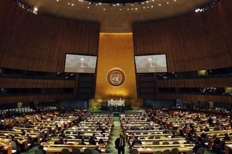 El libro de condolencias estará abierto hasta el 4 de diciembre en la sede de la Misión de Cuba ante la ONU. (Foto: PL)