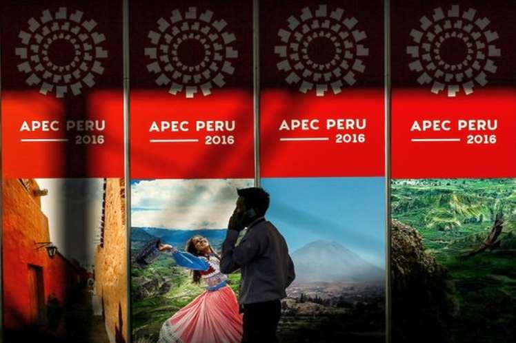 La XXIV Reunión de Líderes Económicos del Foro de Cooperación Económica Asia-Pacífico  se efectuará en Lima el  19 y 20 de noviembre. (Foto: PL)