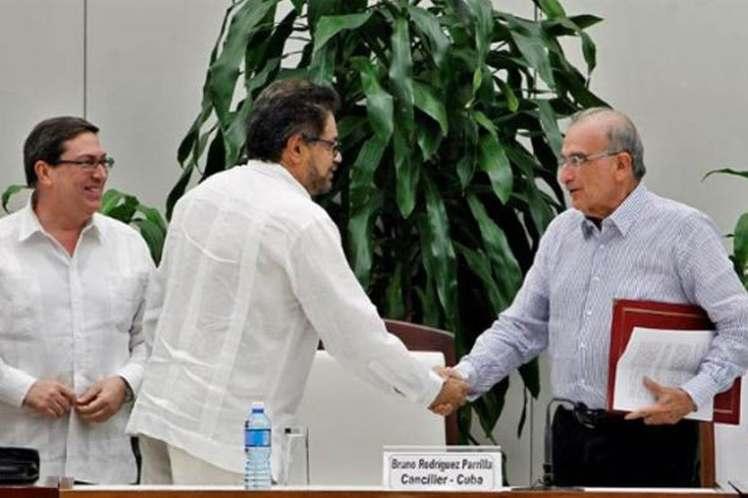 La noticia en torno al actual trato sorprendió a los colombianos en la noche del sábado. (Foto: PL)