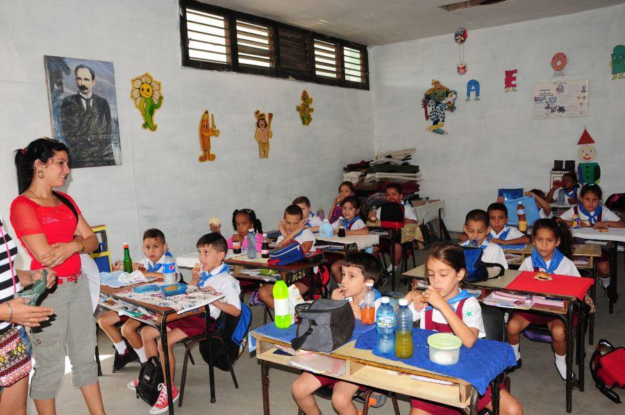 sancti spiritus, educacion, enseñanza primaria, inversiones