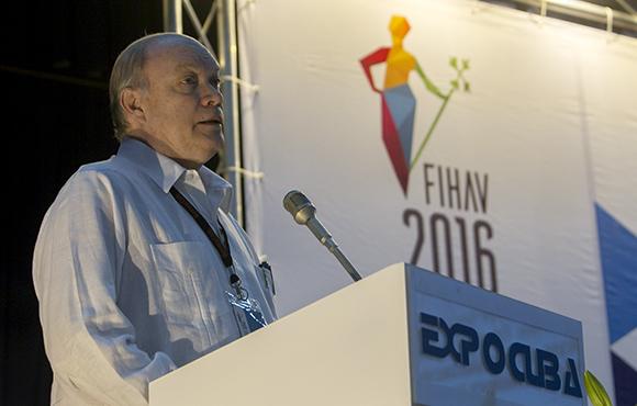 Pensamos que Fihav es una auténtica expresión de la amistad entre nuestros países, afiremó Rodrigo Malmierca en la clausura. (Foto: Cubadebate)