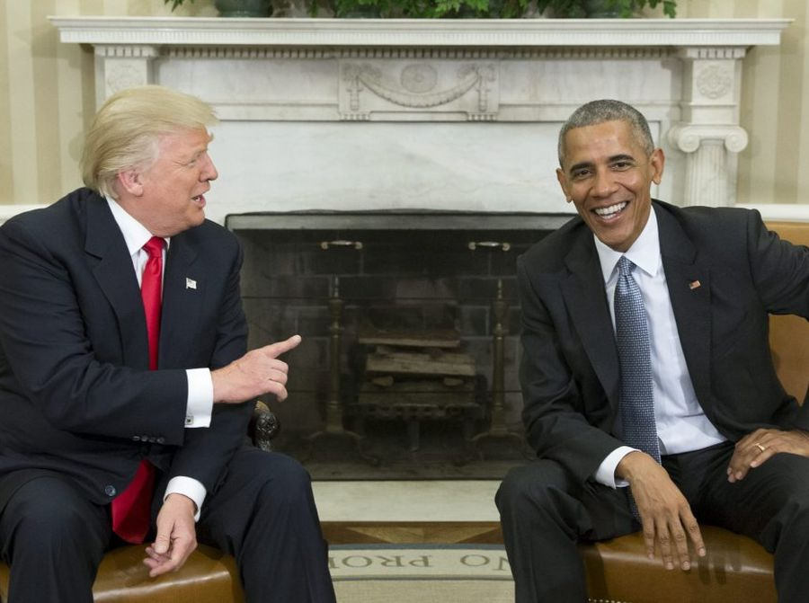 estados unidos, barack obama, donald trump