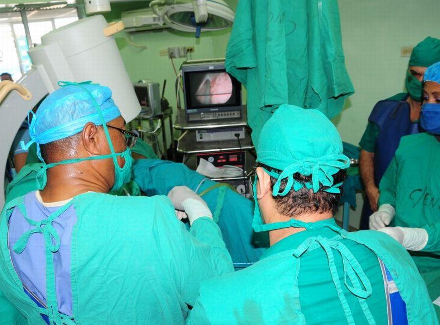 sancti spiritus, hospital provincial camilo cienfuegos, cirugia, urologia