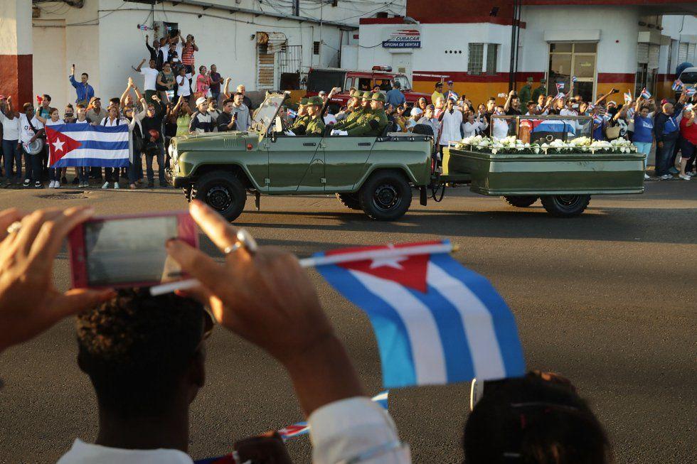 cuba, fidel castro, caravana de la libertad, cenizas de fidel, comandante en jefe, santiago de cuba1