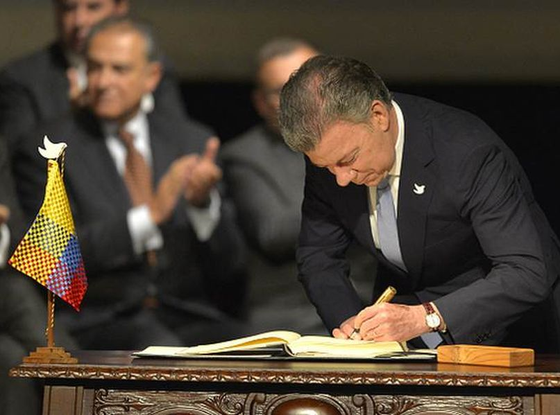 colombia, farc-ep, juan manuel santos, colombia paz