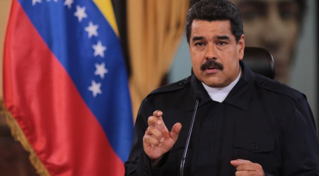 """""""Es momento para unirnos y darle un ejemplo a las mafias"""", expresó Maduro. (Foto: AVN)"""