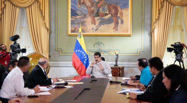 Maduro extendió el cierre de la frontera con Colombia como medida de protección a la economía y la moneda nacional. (Foto: AVN)