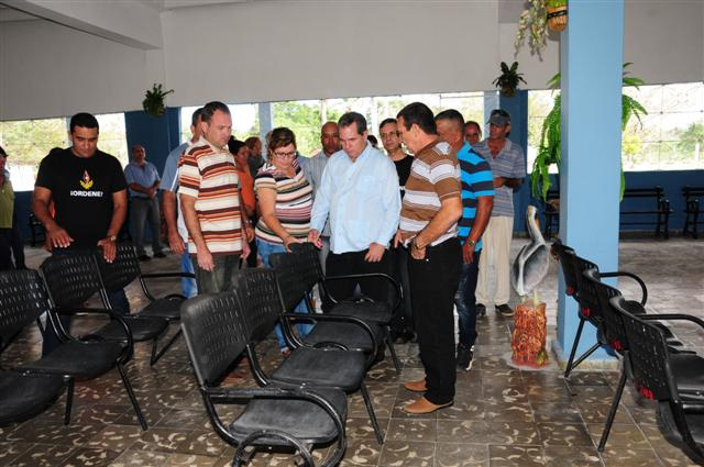 Para la jornada se concluyeron los trabajos de remozamientos en las terminales de ómnibus de Yaguajay Y Meneses.