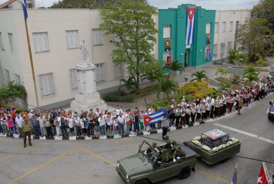 sancti spiritus, homenaje a fidel en sancti spiritus, comandante en jefe fidel castro, lider de la revolucion cubana