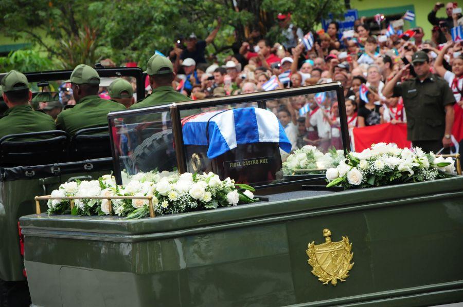 sancti spiritus, fidel castro, tributo a fidel en sancti spiritus, comandante en jefe, cenizas de fidel, lider de la revolucion cubana