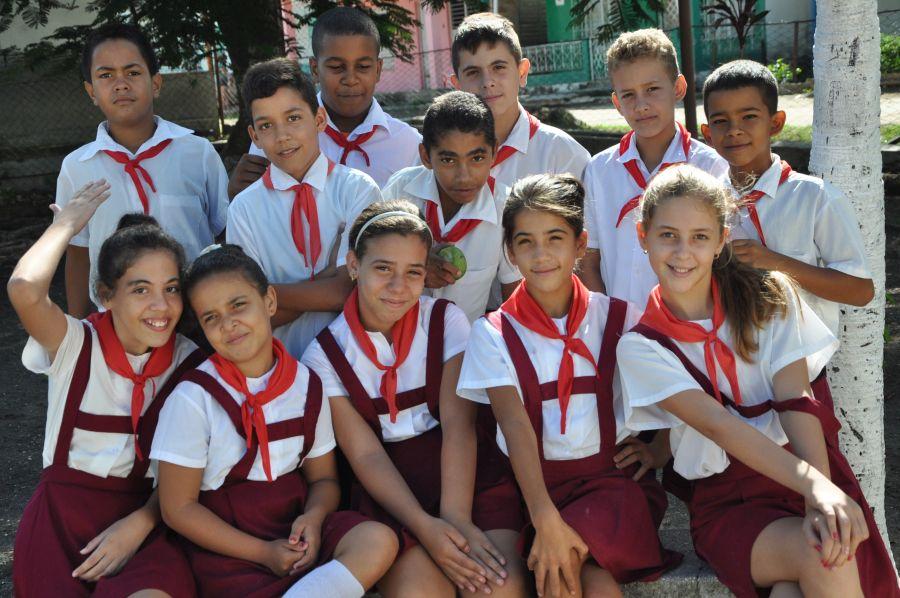 El derecho a la educación es una realidad para cualquier cubano. (Foto: Vicente Brito)