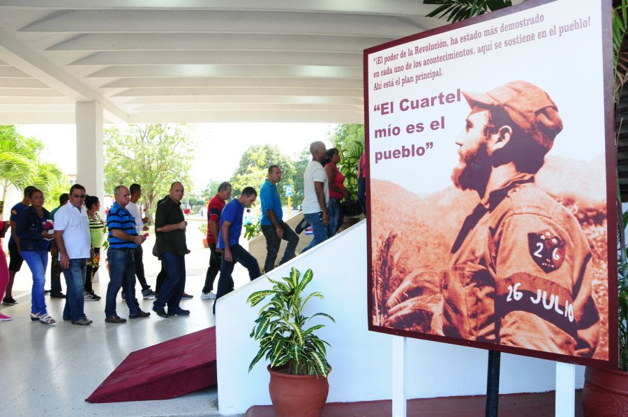 sancti spiritus, tributo a fidel castro en sancti spiritus, comandante en jefe fidel castro, revolucion cubana,