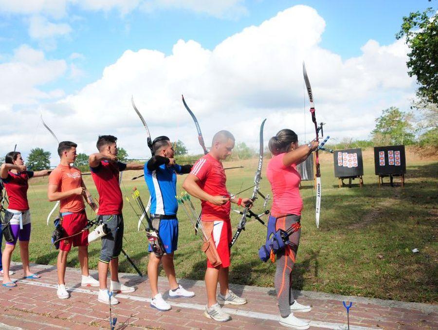 sancti spiritus, deportes, tiro con arco