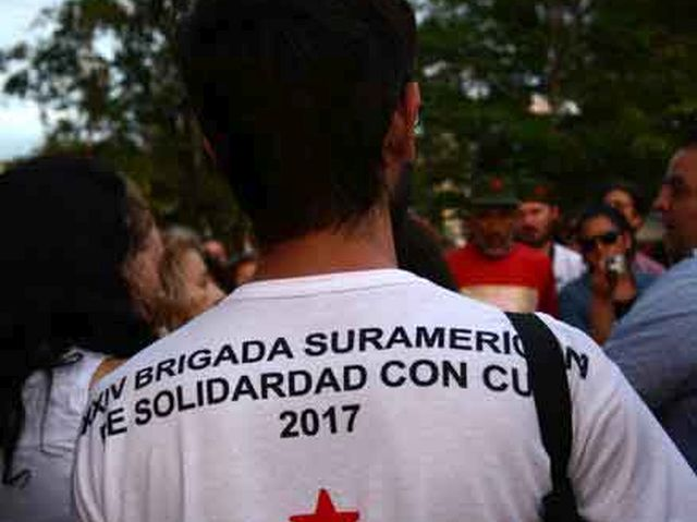 sancti spiritus, solidaridad con cuba, brigada sudamericana