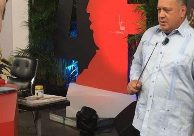 Cabello denunció acciones desestabilizadoras que planea la oposición venezolana. (Foto: Con el Mazo Dando)