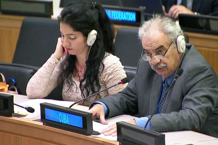 No puede obviarse que quienes arremeten contra Siria han alimentado el conflicto, aseguró el embajador Humberto Rivero. (Foto: PL)