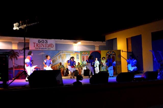 Todas las manifestaciones artísticas estuvieron representadas en la gala inaugural. (Foto: Carlos Luis Sotolongo Puig/ Escambray)