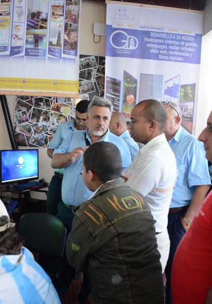 """Los avances de la informática y las comunicaciones en la provincia están presente en la Feria Tecnológica """"La Guayabera 5.0""""."""