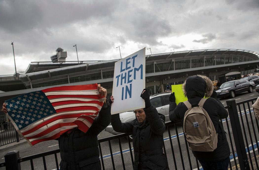 política migratoria, Donald Trump, Estados Unidos, xenofobia, manifestaciones