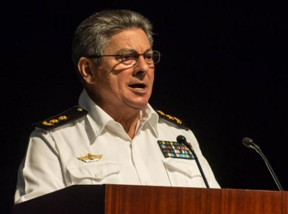 Gandarilla asume el cargo tras el deceso de su predecesor el general de División Carlos Fernández Gondín. (Foto: ACN)