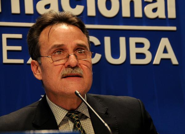 Gustavo Machín, Subdirector General de Estados Unidos del Ministerio de Relaciones Exteriores de Cuba. (Foto: ACN)