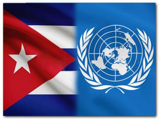 Cuba aboga por una política de movilización de recursos amplia y efectiva.